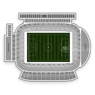 Chivas USA Seating Chart