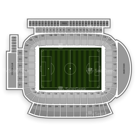 StubHub Center seating chart Chivas USA