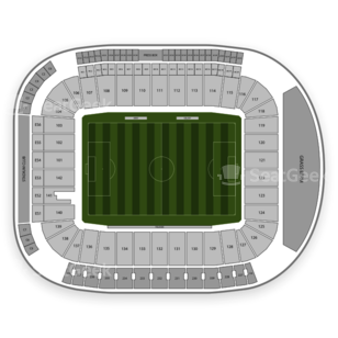 American Football Seating Chart