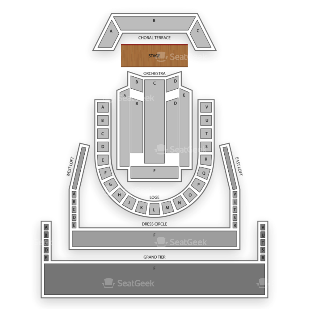 Meyerson Symphony Center Seating Chart Concert