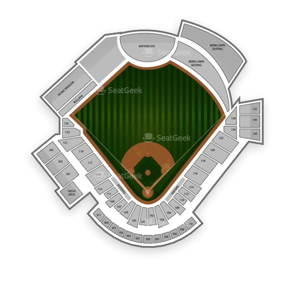 Isotopes Park Seating Chart Concert