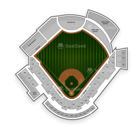 Isotopes Park seating chart Albuquerque Isotopes