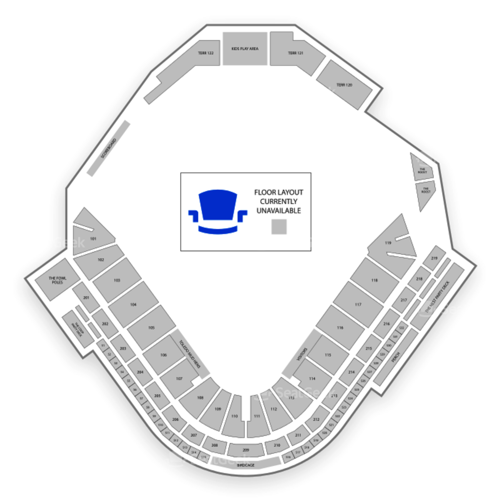 Fifth Third Field (Toledo) Seating Chart Concert