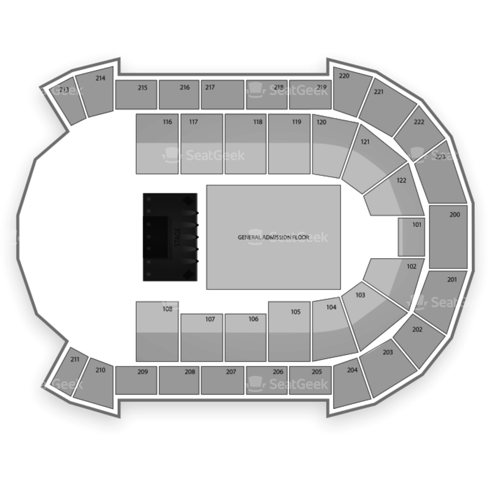 Brandt Centre Seating Chart Concert