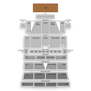 Morris Performing Arts Center Seating Chart Concert
