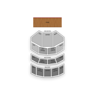 Scranton Cultural Center Seating Chart Concert
