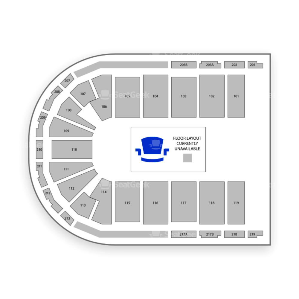 Cross Insurance Center Seating Chart Concert