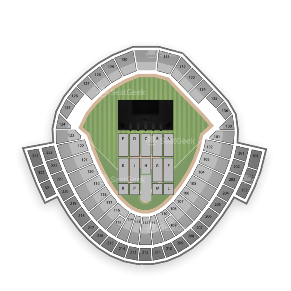 TD Ameritrade Park Seating Chart Concert