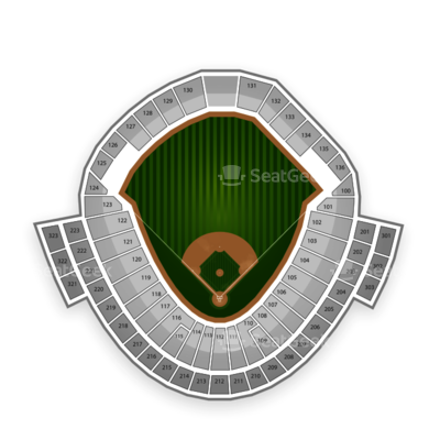 TD Ameritrade Park seating chart College World Series