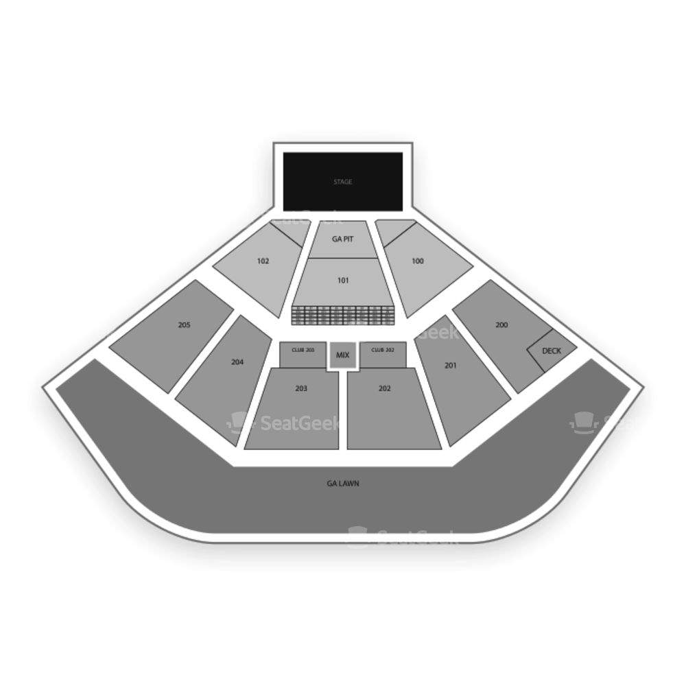Dos Equis Pavilion Seating Chart Concert