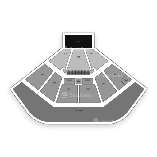 Dos Equis Pavilion Seating Chart & Map   SeatGeek on