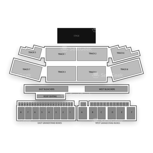 Erie County Fairgrounds in Hamburg Seating Chart Concert