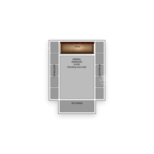 Eagles Ballroom Seating Chart Concert