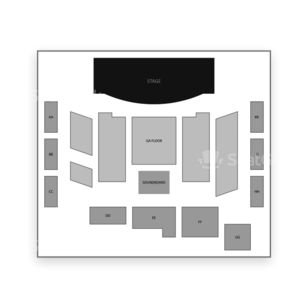 Roseland Theater Seating Chart Dance Performance Tour