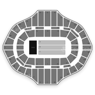 Peoria Civic Center Seating Chart Classical
