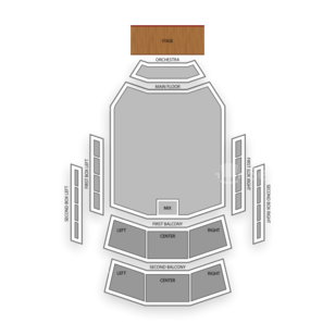 Peoria Civic Center Seating Chart Theater