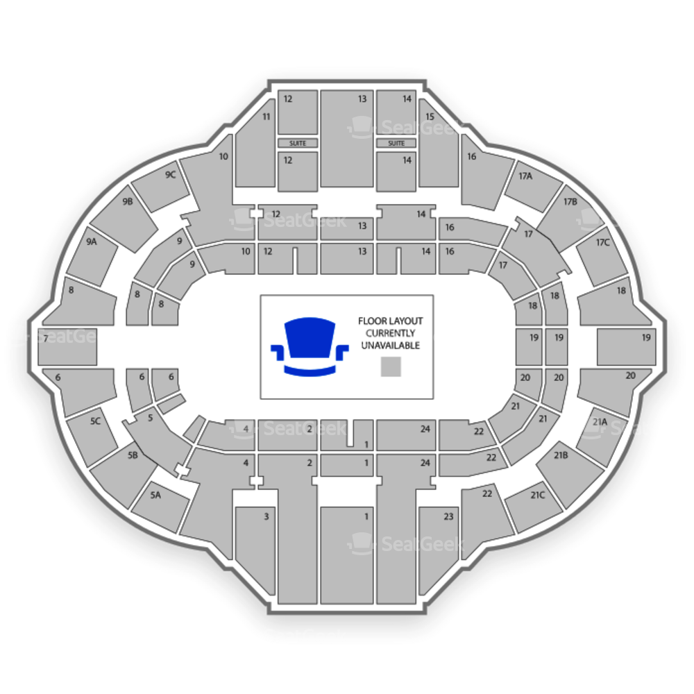 Peoria Civic Center Seating Chart Wwe