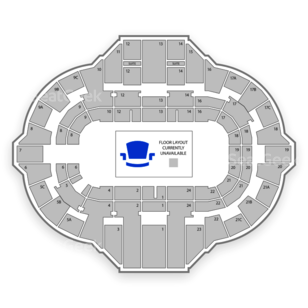 Peoria Civic Center Seating Chart Sports