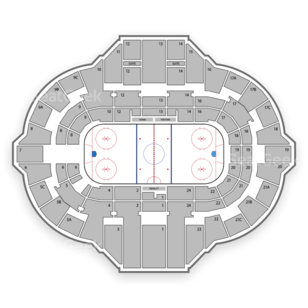 Peoria Rivermen Seating Chart