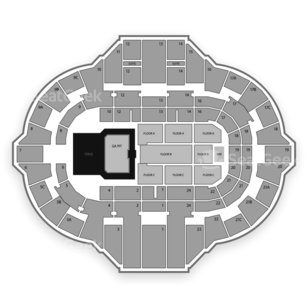 Peoria Civic Center Seating Chart Concert