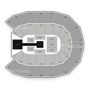 Comcast Arena at Everett Seating Chart Wrestling
