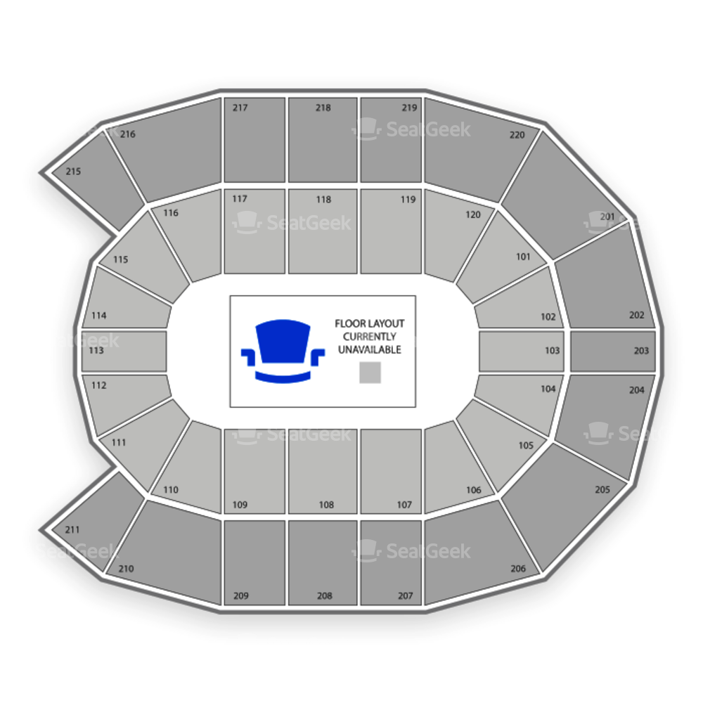 Angel of the Winds Arena Seating Chart Wwe