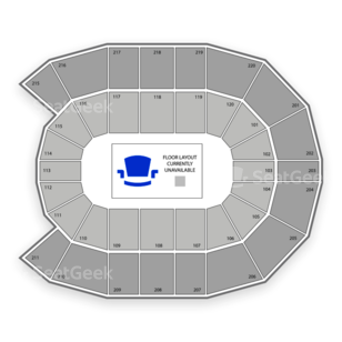 Xfinity Arena at Everett Seating Chart Classical
