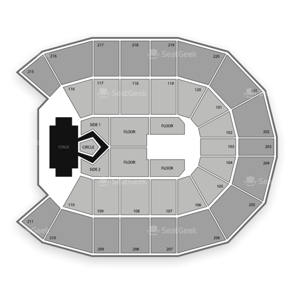 Angel of the Winds Arena Seating Chart Concert