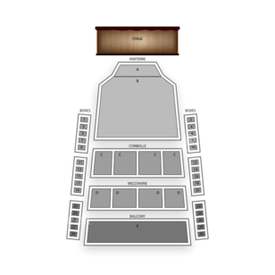 Place des Arts Seating Chart Classical