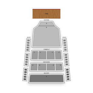 Place des Arts Seating Chart Comedy