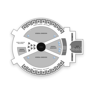 Spiegeltent at Caesars Palace Seating Chart Broadway Tickets National