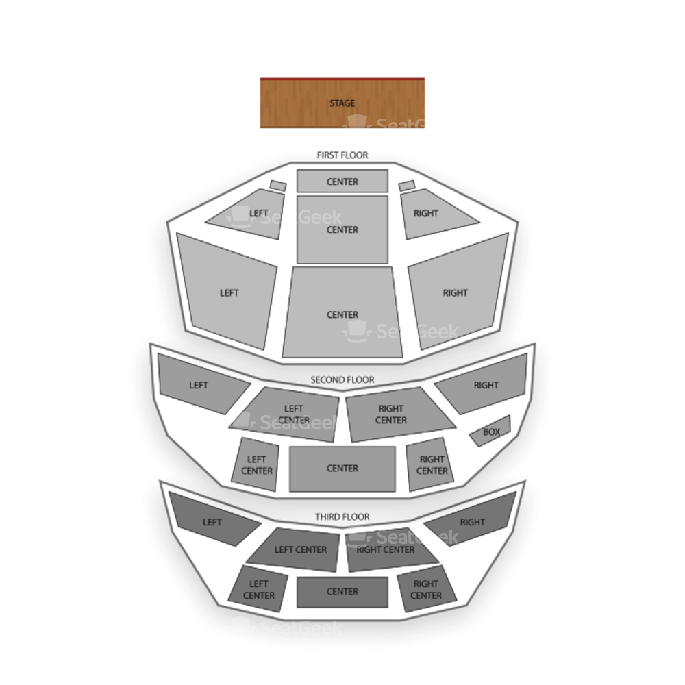 Pabst Theater Seating Chart Comedy