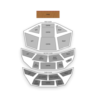Pabst Theater Seating Chart Family