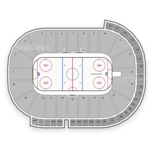 Minnesota Golden Gophers Hockey Seating Chart