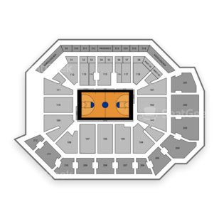 UCF Knights Womens Basketball Seating Chart