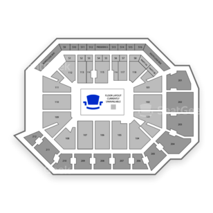 CFE Arena Seating Chart Dance Performance Tour