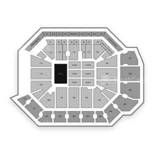 CFE Arena Seating Chart Concert