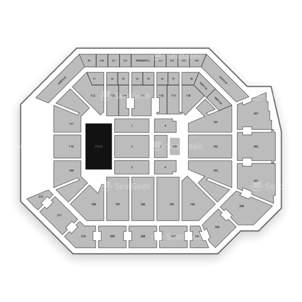 Addition Financial Arena Seating Chart Concert