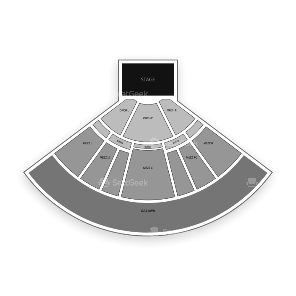 Hollywood Casino Amphitheatre Seating Chart Concert