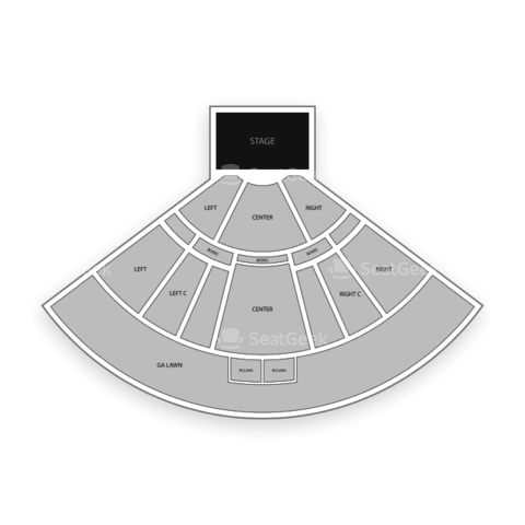 Verizon Wireless Amphitheater St. Louis seating chart Keith Urban