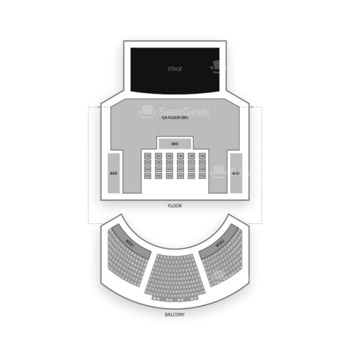 House of Blues - Dallas Seating Chart Concert