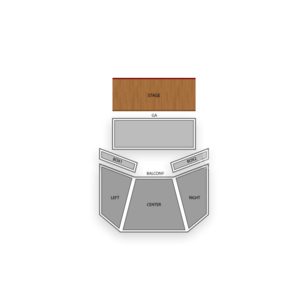 House of Blues Dallas Seating Chart Theater