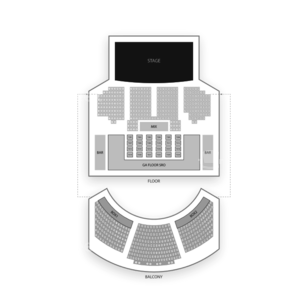House of Blues Dallas Seating Chart Dance Performance Tour