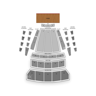 McCaw Hall Seating Chart Theater