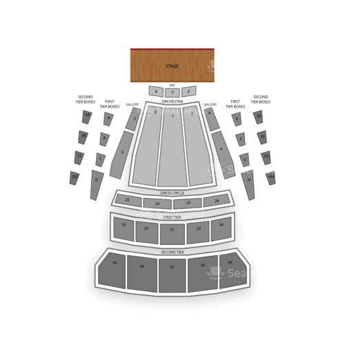 McCaw Hall Seating Chart Concert