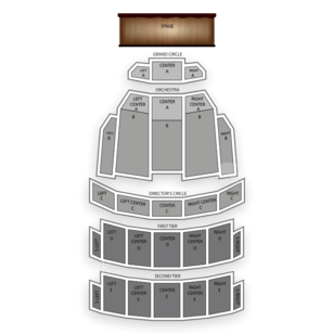 Benedum Center Seating Chart Comedy