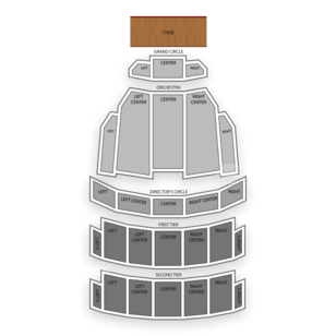 Benedum Center Seating Chart Family
