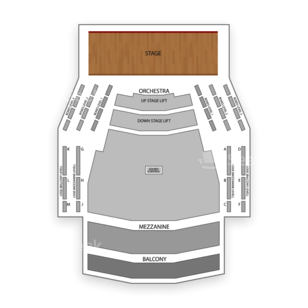 Centre In The Square Seating Chart Dance Performance Tour