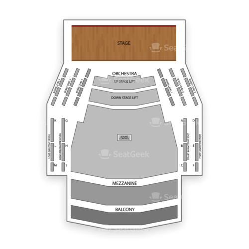 Centre in the Square Seating Chart Concert