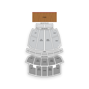 Peabody Opera House Seating Chart Concert